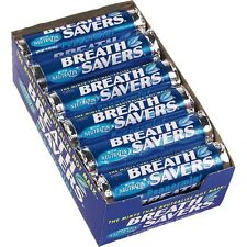 Breath Savers Peppermint Candy Mints - 24ct Rolls