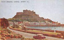B92143 mont orgueil castle jersey c i car voiture uk