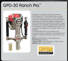Rhino GPD-30 Gas Powered T Post Driver FREE SHIPPING - MAKE OFFER