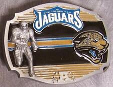 NFL Pewter Belt Buckle Jacksonville Jaguars NEW