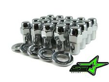 "20PC 7/16-20 CHROME MAG WHEEL LUG NUTS .75"" SHANK CHEVY CORVETTE CAMARO CHEVELLE"