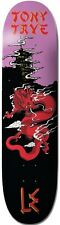 LE LIFE EXTENSION - TONY TAVE DRAGON - 8 INCH SKATEBOARD DECK SKATE CHINESE RED