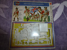 Airfix British  grenadier 1776 54mm carded model