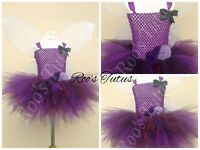 Vidia Fairy, (Tinkerbell) inspired tutu dress costume (Handmade). Fairy dress up