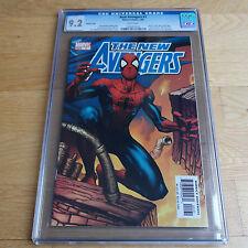 The New Avengers #1 CGC 9.2 Steve McNiven & Richard Isanove Variant Cover