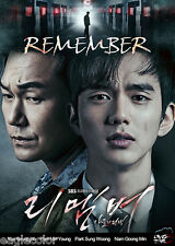 Remember – War of the Son Korean Drama (4DVDs) Excellent English & Quality!