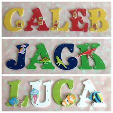 Children Name Wooden Letter Door Wall Sign Christmas Xmas Present Boys Girls