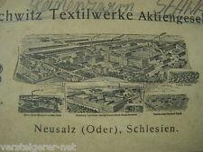 10 Rollen GRUSCHWITZ Leinenzwirn Neusalz (Oder), Schlesien. Historisch, museal