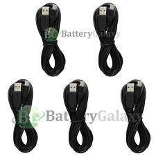 5 Micro USB 10FT Travel Battery Charger Data Sync Cable For Android Cell Phone