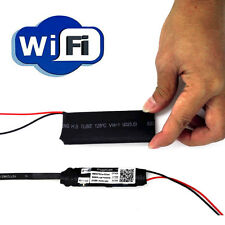 Hidden Spy Wireless Wifi Module Camera Recorder IP DV For Andior iPhone PC IOS