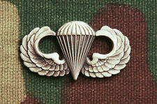 US ARMY BASIC PARACHUTIST QUALIFICATION BADGE JUMP WINGS; REGULATION FULL SIZE
