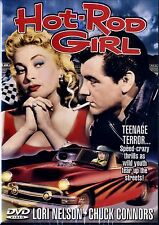 Hot Rod Girl -1956- Lori Nelson, Chuck Connors-50's Drag Racing  Classic NEW!!
