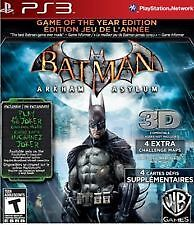 BATMAN Arkham Asylum Greatest Hits Playstation 3 Game New, Sealed!