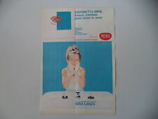 advertising Pubblicità 1965 SAPONE SAPONETTA MIRA LANZA