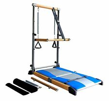 Pro Fitness Exercise Reformers Supreme Equipment Workout W/ Pilates Ballet Barre