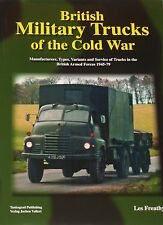 BRITISH MILITARY TRUCKS Cold War Army Transport NEW HB Vehicle Types Models NATO