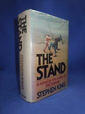 1978 THE STAND Stephen King First Edition 1st Print w/ T39, Original Dust Jacket