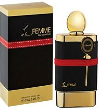EDP Le Femme 3.3oz For Women's by Armaf Perfumes UAE warm spicy and earthy scent