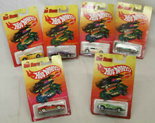 6 MATTEL HOT WHEELS THE HOT ONES FERRARI 308 GTS EL RAY SIDE KICK CAMARO SPEED