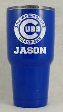 30 Custom Personalized Chicago Cubs World Series Champions Yeti Christmas gift