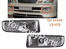 Fog Lights for Lexus LX470 1998 - 2007 Clear Driving Lamps left+Right sides LED