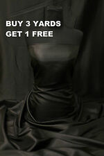 Premium Black Taffeta Dress-Making Lining Wedding Curtain Design Fabric Material