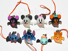 Yujin Disney stitch Mickey Pooh Halloween strap Pt.1 Figure (full set of 8 )