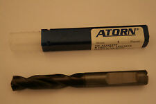 ATORN Solid Carbide Drills - 9.8mm dia. VHM-TIALN through coolant holes