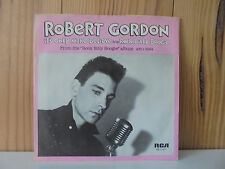 ROBERT GORDON ROCKABILLY BOOGIE  IT'S ONLY MAKE BELIEVE USA 45 PIC SLEEVE RCA 79
