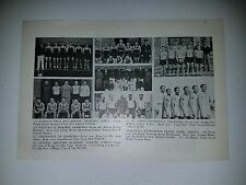 Shanghai Nanking China St. John's University 1933-34 Basketball Team Picture