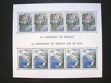 Monaco MiNr. 1319-1320 Block 12 EuropaCept postfrisch (W 732)