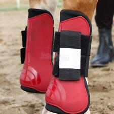 Horse Equine SPORT MEDICINE Jumping Protection Front LEG GUARD SPLINT BOOTS