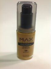 Max Factor ColorGenius with Minerals Foundation # 630 Honey No.3 New