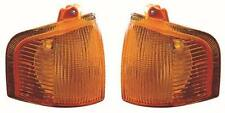 Ford Escort Mk4 1986-1990 Amber Front Indicator Lights 1 Pair O/S & N/S