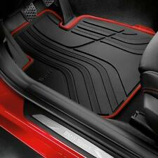 BMW OEM Black Rubber Floor Mats SPORT 2012-2017 F30 Sedan F31 Wagon 51472219800