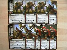 Lord of the Rings LCG - 1x Encounter Set #056-058 - the land of Shadow