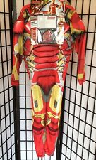 "Marvel's Avengers Iron Man Boy Large 10-12 ""Age of Ultron"" Halloween Costume NWT"