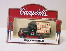 CAMBELL'S SOUP DIE-CAST MODEL TRUCK  100 YRS CAMPBELLS CONDENSED SOUP