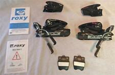 Roxy Nova 7 Team Black Snow Ski Bindings NEW
