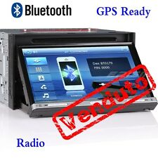 "Italia Autoradio 7051IT "" 2Din Car DVD CD MP3 Stereo GPS RDS Bluetooth win8 UI"