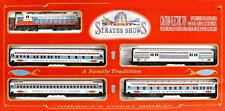 HO Scale JAMES STRATES CIRCUS CARNIVAL LOCOMOTIVE & 4 CAR TRAIN SET New IHC 318