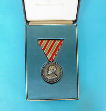 JOSIP BROZ TITO - 1954. JOURNEY TO INDIA & BURMA Yugoslavia medal + original box