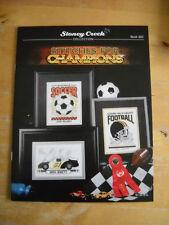 Punto CROCE MODELLO Stitches for Champions Book 322 Stoney Creek Collection