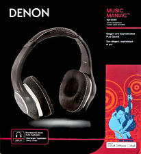 Denon AH-D340  Acoustically Pure On-Ear Professionally Tune Headphones