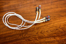 Homegrown Audio Silver Lace RCA Interconnect PAIR 1 Meter