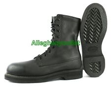 "US Military USAF Addison 9"" JUMP BOOTS FULL LEATHER Black USA MADE NIB 8 R"
