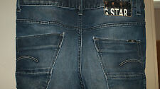 Womens G Star Raw 3301 ARC Loose Tapered Mid Jeans Size 25X32 Actual 28X29