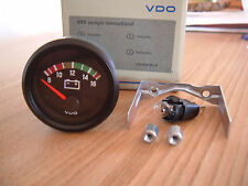VDO Voltmeter 12V Instrument 52mm Gauge Cockpit International Classic VW oldie