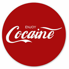 Enjoy Cocaine / Coca Cola Turntable slipmats - high quality - brand new (PAIR)