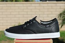 VANS OTW LUDLOW SZ 10.5 HERRINGBONE BLACK WHITE OFF THE WALL VN 0ZUT4DZ